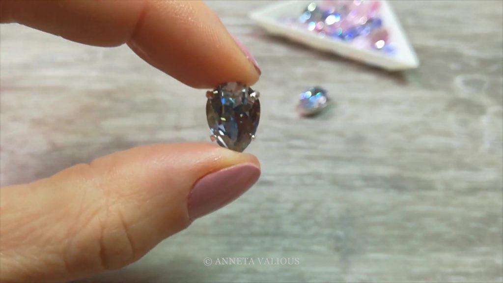 Оправа кристаллов Swarovski